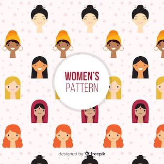 現代の国際女性パターン