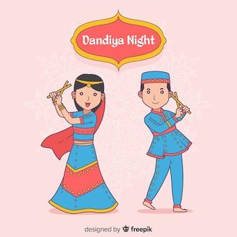 ダンディヤのダンサー