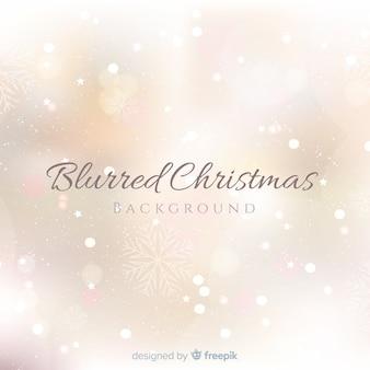 ぼんやりしたクリスマスの背景