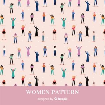 国際的な女性グループの現代的なパターン