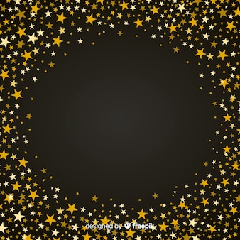 星のクリスマスの背景