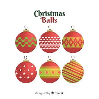 Набор рождественских шаров