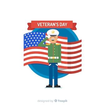 退役軍人の日の背景