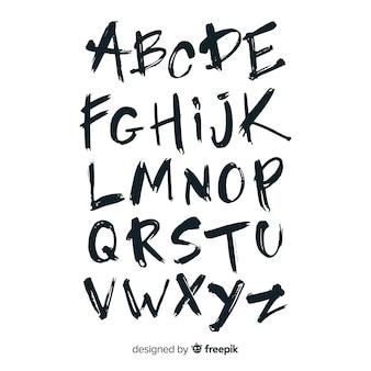 グラフィティアルファベット