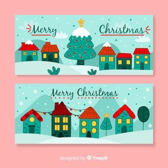 クリスマスタウンのバナー