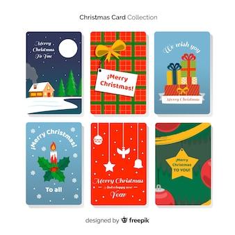 クリスマスカードコレクション