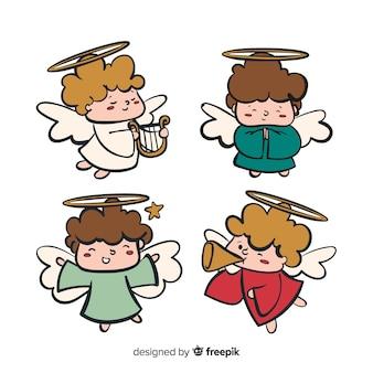 Коллекция рождественских ангелов