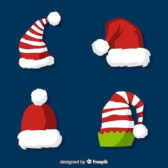 サンタの帽子コレクション