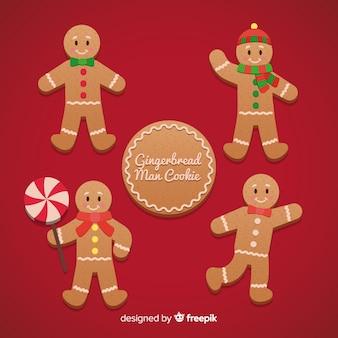 ジンジャーブレッドマンクッキークリスマスパック
