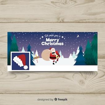 Новогодняя открытка на рождество