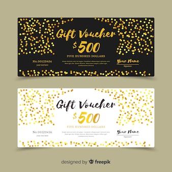 Золотой подарочный сертификат