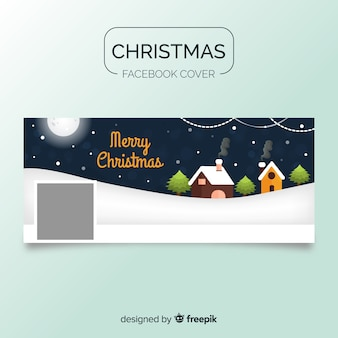 キャビンズ・クリスマス・フェイスブック・カバー