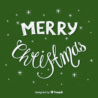クリスマスには、文字の背景が輝く