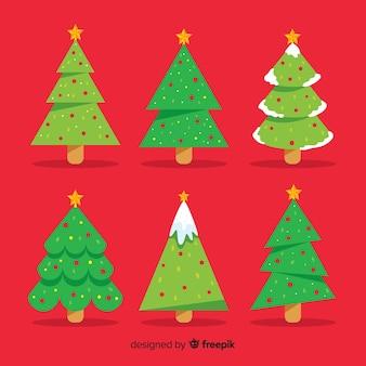 Рождественские елки установлены