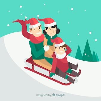 クリスマスファミリーシーン