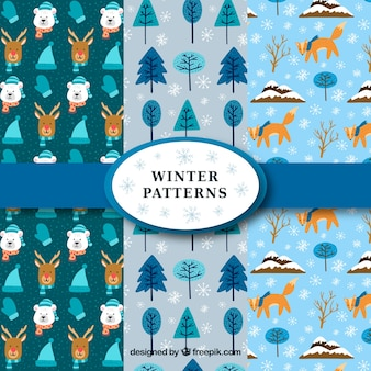冬のパターンコレクション