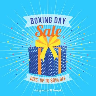 ボクシングの日の販売の背景