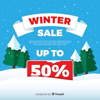 Зимний фон для продажи