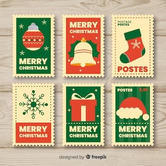 クリスマススタンプコレクション