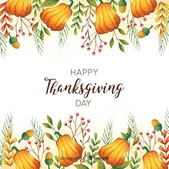 素敵な感謝の日の構成