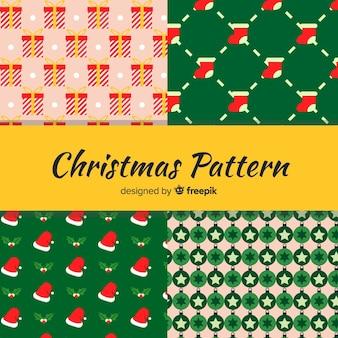 クリスマスパターンコレクション