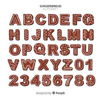ジンジャーブレッドアルファベット