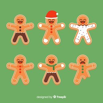 ジンジャーブレッドのクッキーコレクション