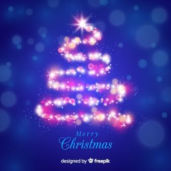 ライトクリスマスツリー