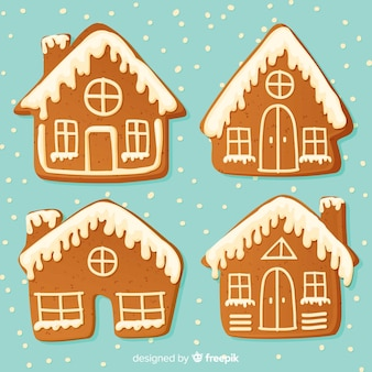 クリスマスジンジャーブレッドハウスコレクション