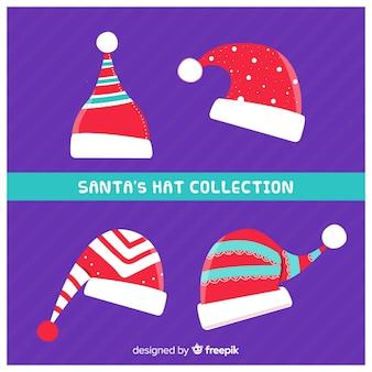 サンタの帽子のコレクション