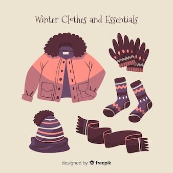冬の洋服と必需品