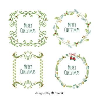 Рождественские рамки