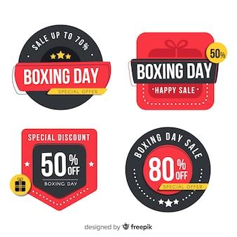 ボクシングデー販売バッジコレクション