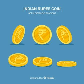インドルピーの現代の構成