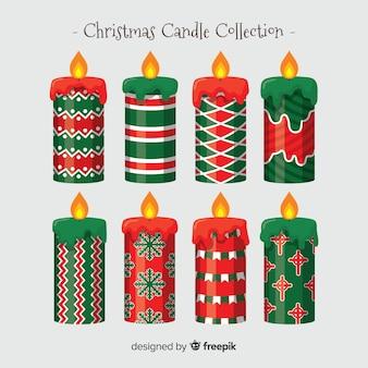 クリスマスキャンドルコレクション