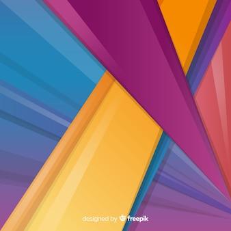 Абстрактный геометрический красочный фон