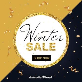冬の販売の背景