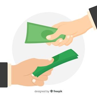 インドルピー紙幣交換