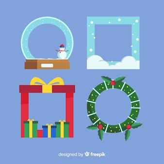 クリスマスフレーム&ボーダー