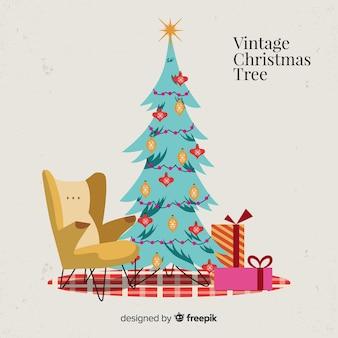 ヴィンテージクリスマスツリー