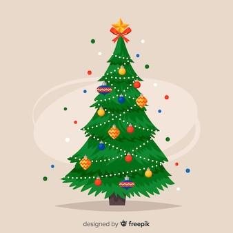 クリスマスツリーの背景
