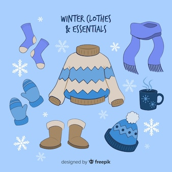冬の洋服&エッセンシャル