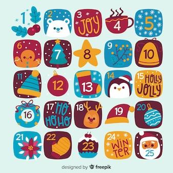 Календарь появления