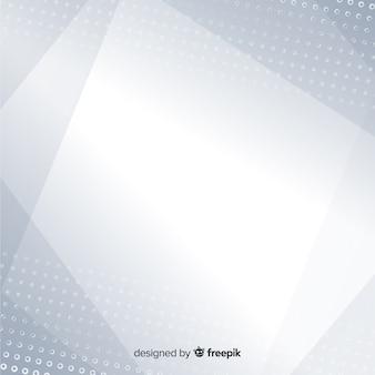 Белый фон с абстрактным стилем