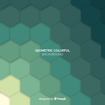 幾何学のカラフルな背景