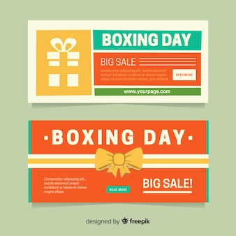 Баннеры бокса в день подарков