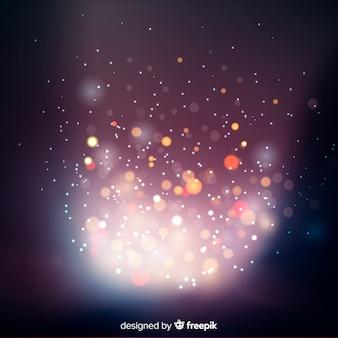 Абстрактный фон боке огни