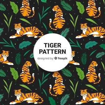 Тигровый узор