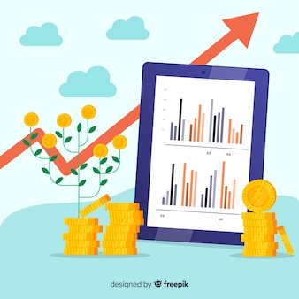 インドのルピー投資のコンセプト