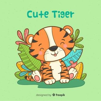 Симпатичный тигр